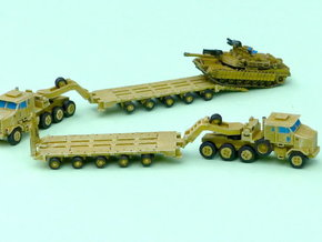 HETS M1070 / M1000 Truck and Trailer 1/285 6mm in Frosted Ultra Detail