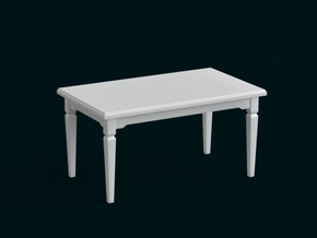 1:39 Scale Model - Table 11 in White Strong & Flexible