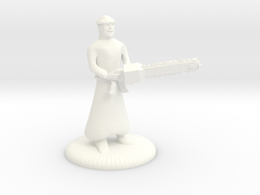 Munchkin Mad Monk Mini in White Strong & Flexible Polished