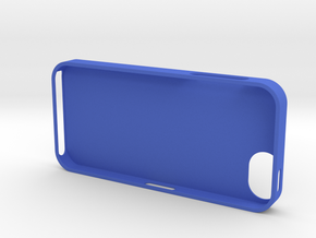 iPhone 5 in Blue Strong & Flexible Polished