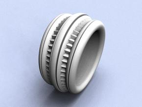 Stairway to Heaven Ring - Size 12 (21.49 mm) in Polished Silver