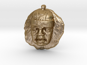 Ancient American in Polished Gold Steel