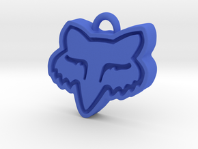 Charming Fox Racing Logo in Blue Strong & Flexible Polished