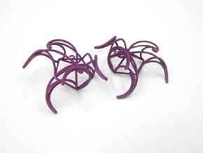 Aster Earrings in White Strong & Flexible