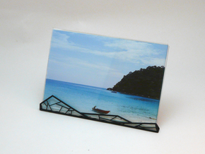 A.N. Photo Frame in White Strong & Flexible