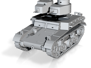 "PV42B M2A2 ""Mae West"" Light Tank (1/100) in Frosted Ultra Detail"