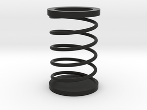Spring Toothpick Holder in Black Strong & Flexible