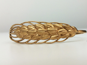 SALE! Wheat 17cm Bracelet (medium)  in Raw Bronze