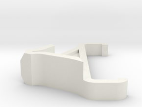 Iphone Stand Mod in White Strong & Flexible