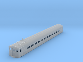 N Scale PRR Budd Silverliner MU Body Nonpowered in Frosted Ultra Detail