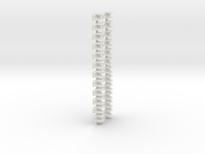 On16.5 Link and pin coupling  in White Strong & Flexible