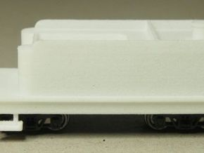 HOn30 tender for 2-8-0 steam loco in White Strong & Flexible Polished