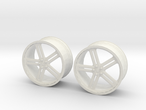 17 Inch Wheel in White Strong & Flexible