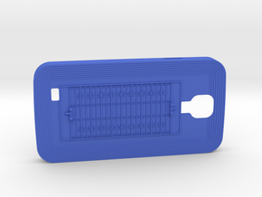 Galaxy S4 Football in Blue Strong & Flexible Polished