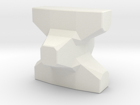HO/1:87 Accropode 2.98m solid in White Strong & Flexible