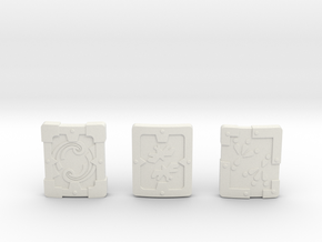 Iron Shield Pack in White Strong & Flexible
