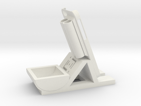 Desk/Dash Caddy Charging Dock #SWiPhone6 in White Strong & Flexible