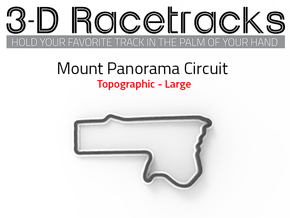 Mount Panorama Circuit | Large in Full Color Sandstone