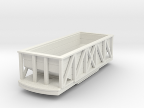 Gn15 wooden hopper in White Strong & Flexible