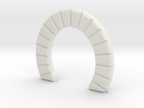 Z SINGLE TRACK STONE TUNNEL in White Strong & Flexible
