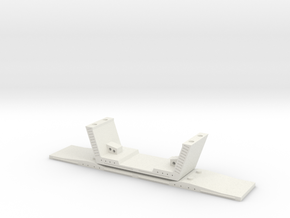 HO/1:87 Precast concrete bridge segment (wide/no r in White Strong & Flexible