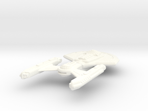 USS Joppa in White Strong & Flexible Polished