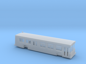 N scale 1:160 new flyer D40lf Bus in Frosted Ultra Detail