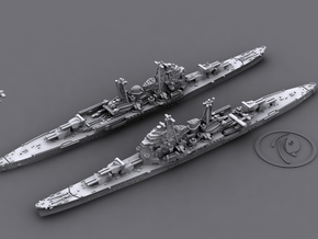 1/1800 IJN CA Chokai[1942] in White Strong & Flexible
