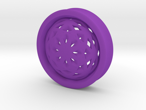 VORTEX2-43mm in Purple Strong & Flexible Polished