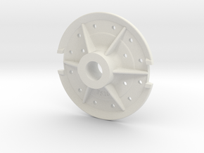 Climax Gear Hub 510 - 1-8th Scale in White Strong & Flexible