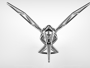 Hummingbird in Polished Silver