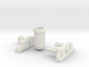 Clash of Clans Mortar in White Strong & Flexible