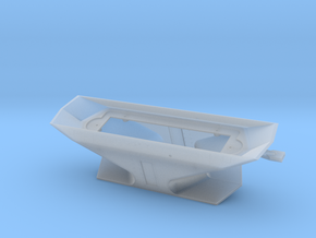 S Scale CNR Double Ended Plow Body in Frosted Ultra Detail
