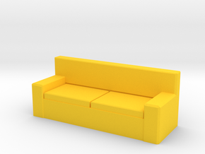 Tiny Couch in Yellow Strong & Flexible Polished