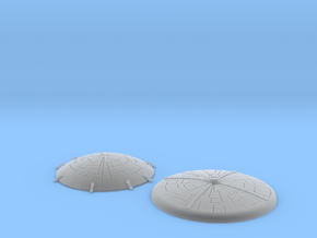 GALACTIKA MOBIUS DOMES SET in Frosted Ultra Detail