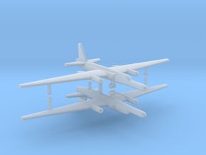 1/700 U-2 TR-1A Reconnaissance Aircraft (x2) in Frosted Ultra Detail