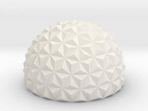 Geodesic Dome in White Strong & Flexible