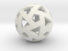 Triango Mesh Sphere in White Strong & Flexible