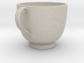 Turkish Coffee Cup in Sandstone