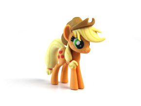 My Little Pony - Applejack (�75mm tall) in Full Color Sandstone