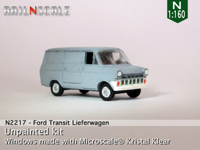 Ford Transit Mk1 Lieferwagen (N 1:160) in Frosted Ultra Detail