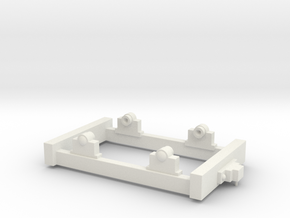 Gn15 Small Truck Chassis in White Strong & Flexible