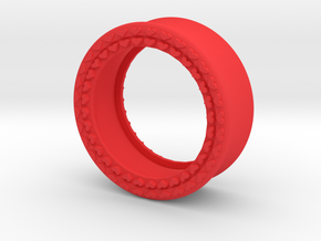 VORTEX8-27mm in Red Strong & Flexible Polished