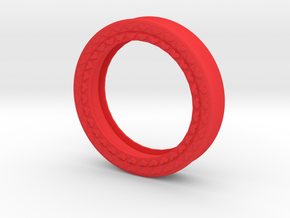 VORTEX8-51mm in Red Strong & Flexible Polished