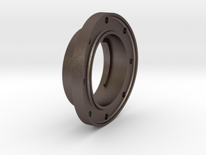 F56 Poke Hole Flange - 8 in Stainless Steel