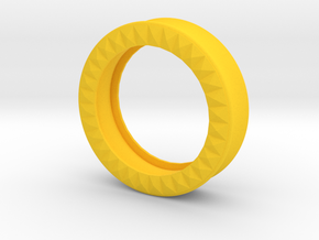 VORTEX9-40mm in Yellow Strong & Flexible Polished