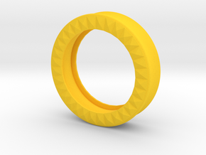 VORTEX9-42mm in Yellow Strong & Flexible Polished