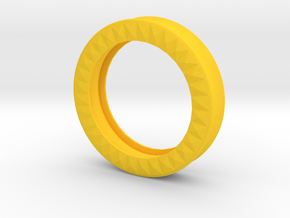 VORTEX9-51mm in Yellow Strong & Flexible Polished