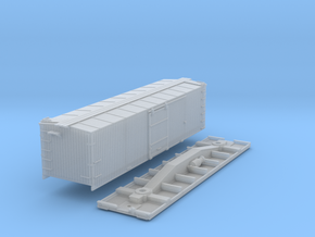 N-Scale D&SL 52000 Series Boxcar Kit in Frosted Ultra Detail