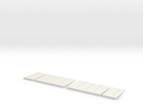 3d Elevator Panels 1 in White Strong & Flexible